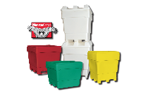 Single Wall MonsterCombo Bins