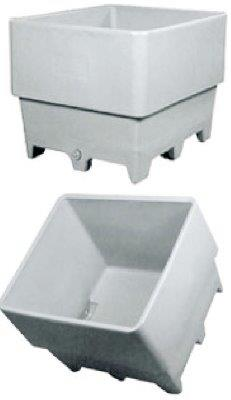 7000 Series Double Wall Poly Combo Bin