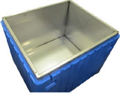 30 Cu Ft Insulated PB30 Fish Box, Stainless Steel Lining, No Drain