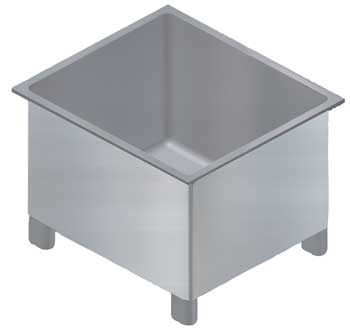 Open Top Stainless Steel Vat